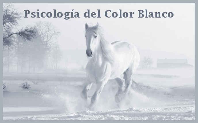 Significado y psicología del color blanco